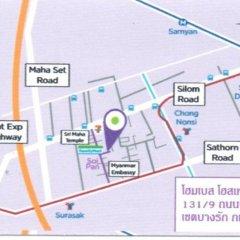 Home Base Hostel Adults Only Бангкок спортивное сооружение