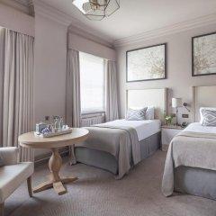 Отель Intercontinental Edinburgh the George 5* Улучшенный номер с различными типами кроватей фото 3