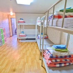 Отель Kimchee Hongdae Guesthouse Кровать в общем номере с двухъярусной кроватью фото 10