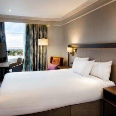 Отель Hilton Edinburgh Carlton 4* Стандартный номер с двуспальной кроватью фото 2