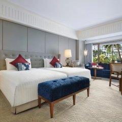 Отель Anantara Siam Bangkok 5* Улучшенный номер с разными типами кроватей фото 3