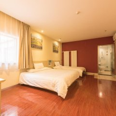 Отель Hanting Hotel Beijing Liufang Branch Китай, Пекин - отзывы, цены и фото номеров - забронировать отель Hanting Hotel Beijing Liufang Branch онлайн комната для гостей фото 4