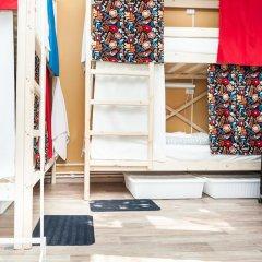 Гостиница Hostels Rus Vnukovo Кровати в общем номере с двухъярусными кроватями фото 10