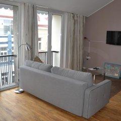 Отель Beausejour Apartments Литва, Вильнюс - отзывы, цены и фото номеров - забронировать отель Beausejour Apartments онлайн комната для гостей фото 5