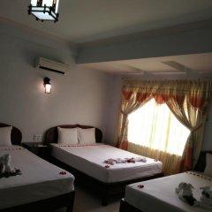 Hue Valentine Hotel 2* Стандартный семейный номер с двуспальной кроватью фото 5