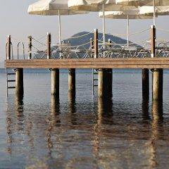 Emre Beach Hotel Турция, Мармарис - отзывы, цены и фото номеров - забронировать отель Emre Beach Hotel онлайн приотельная территория фото 2