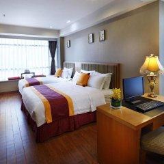 Guangzhou The Royal Garden Hotel 3* Улучшенный номер с различными типами кроватей фото 2
