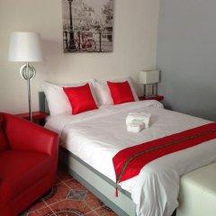 Basilico Hotel & Restaurant Номер Делюкс с различными типами кроватей фото 13
