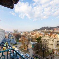 Гостиница Chornovola 1 Львов балкон