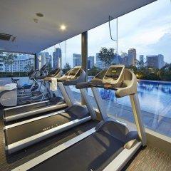 Hotel Boss Сингапур фитнесс-зал