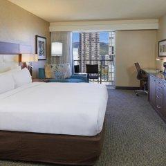 DoubleTree by Hilton Hotel Alana - Waikiki Beach 3* Люкс с различными типами кроватей фото 2