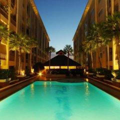 Отель Ninth Place Serviced Residence Бангкок бассейн