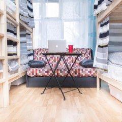Хостел на Пятницкой Кровать в общем номере с двухъярусной кроватью