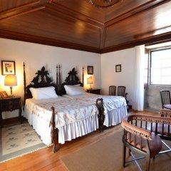 Отель Casa dos Assentos de Quintiaes 3* Стандартный номер с различными типами кроватей