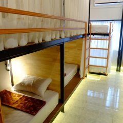 Sleep Owl Hostel Кровать в общем номере с двухъярусной кроватью фото 7