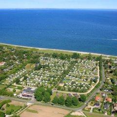 Отель Ajstrup Beach Camping & Cottages Дания, Орхус - отзывы, цены и фото номеров - забронировать отель Ajstrup Beach Camping & Cottages онлайн балкон