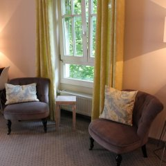 Отель Villa Am Schlosspark 3* Стандартный номер фото 9