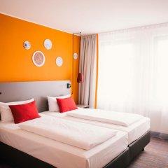 Отель Vienna House Easy Braunschweig 4* Стандартный номер с различными типами кроватей фото 6