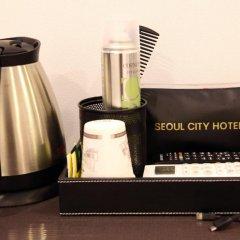 Seoul City Hotel 2* Стандартный номер с различными типами кроватей