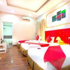 Hanoi Amanda Hotel 3* Стандартный семейный номер с двуспальной кроватью фото 4