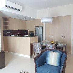 Отель Somerset Ho Chi Minh City 4* Улучшенные апартаменты с различными типами кроватей