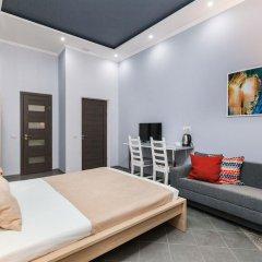 Мини-Отель Брусника Полежаевская Стандартный номер с различными типами кроватей фото 12