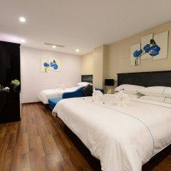Hanoi Emerald Waters Hotel & Spa 4* Семейный номер Делюкс с двуспальной кроватью фото 2