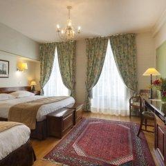 Отель Hôtel du Palais Bourbon Франция, Париж - отзывы, цены и фото номеров - забронировать отель Hôtel du Palais Bourbon онлайн комната для гостей фото 2