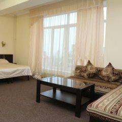 Гостиница Кавказ Студия разные типы кроватей