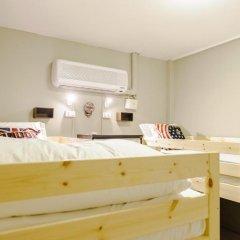 I-Sleep Silom Hostel Семейный номер категории Эконом с двуспальной кроватью фото 2
