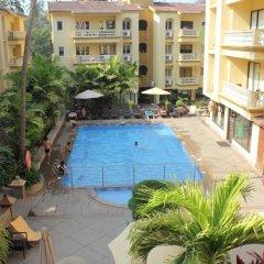 Отель Sandalwood Hotel & Retreat Индия, Гоа - отзывы, цены и фото номеров - забронировать отель Sandalwood Hotel & Retreat онлайн бассейн
