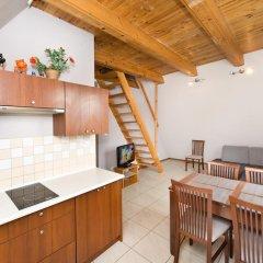 Отель Apartamenty Zacisze Апартаменты с различными типами кроватей фото 19