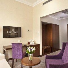 Hotel KING DAVID Prague 5* Представительский номер с двуспальной кроватью фото 2