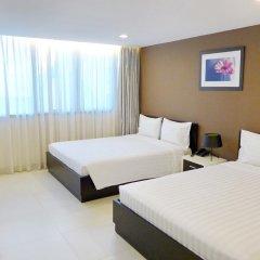 Minh Khang Hotel 3* Семейный номер Делюкс с двуспальной кроватью