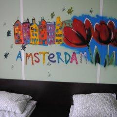 Хостел Европа Номер с общей ванной комнатой с различными типами кроватей (общая ванная комната) фото 19
