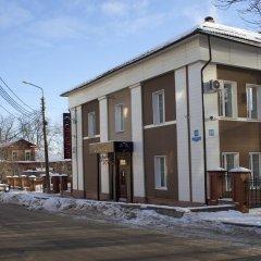 Гостиница Милютинский парковка