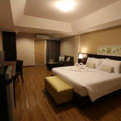 Отель Golden Jade Suvarnabhumi 3* Улучшенный номер двуспальная кровать фото 3