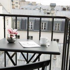 Отель Hôtel Jacques De Molay балкон