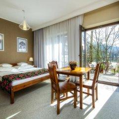 Отель Rezydencja Sienkiewiczówka 3* Стандартный номер с двуспальной кроватью фото 3