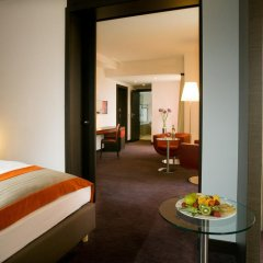 Отель Vienna House Andel's Cracow 4* Стандартный номер с различными типами кроватей фото 13
