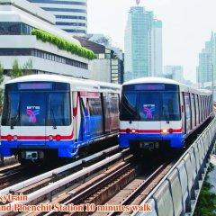 Отель Omni Tower Syncate Suites Бангкок городской автобус