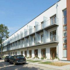Отель Natalex MicroLofts парковка