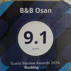 Отель B&B Osan бассейн