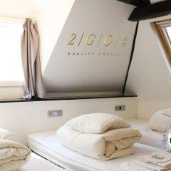 2GO4 Quality Hostel Grand Place Кровать в женском общем номере с двухъярусной кроватью фото 4