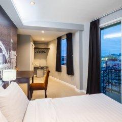 Отель @Hua Lamphong 2* Номер Делюкс с различными типами кроватей фото 4
