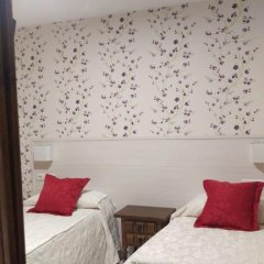 Отель Hostal San Roque Номер Комфорт с различными типами кроватей фото 6