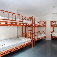 Hush Hostel Moda Кровать в общем номере фото 8