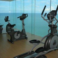 Отель Wong Amat Tower фитнесс-зал фото 2