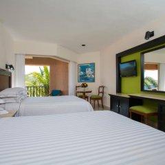 Отель Barcelo Huatulco Beach - Все включено 4* Номер Делюкс с двуспальной кроватью фото 6
