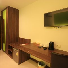 Отель Di Pantai Boutique Beach Resort 4* Стандартный номер с разными типами кроватей фото 7